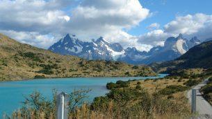 نهر ريو باينه في منتزه توريس دل باينه الوطني في تشيلي، فبراير 2011 (Wikipedia/Evelyn Proimos/CC BY)
