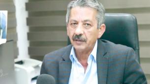 محمود ابو الهيجاء، محرر صحيفة السلطة الفلسطينية 'الحياة الجديدة' (Screenshot: Hibr)