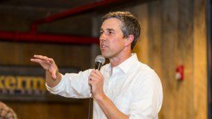 المرشح الديمقراطي للرئاسة بيتو اورورك في نيو هامشر، 20 مارس 2019 (Scott Eisen/Getty Images/AFP)