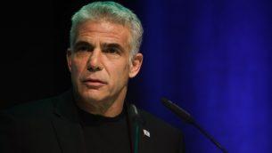 رئيس حزب يش عتيد، يئير لبيد (Hadas Parush/Flash90)
