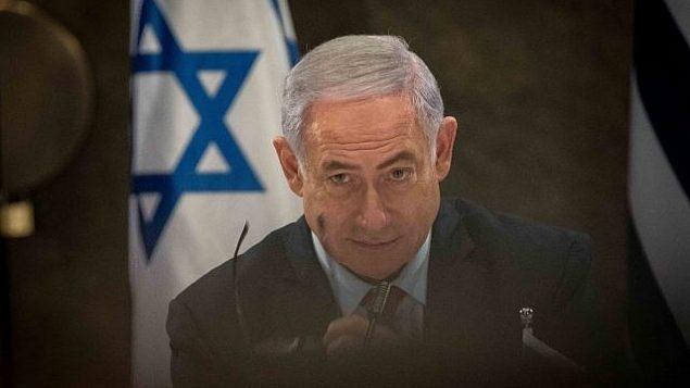 رئيس الوزراء بنيامين نتنياهو في القدس، 20 مارس، 2019. (Noam Revkin Fenton/Flash90)