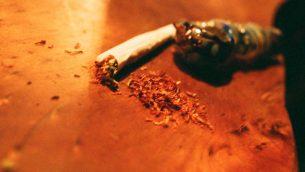 صورة توضيحية لمخدرات (Orel Cohen /Flash90)