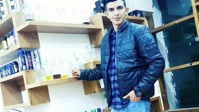 عمر أبو ليلى، 18 عاما، المشتبه به في هجوم مفترق أرييل (Facebook)