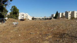 الموقع في القدس المعروف سابقا باسم 'ثكنة النبي'، في اواخر عام 2016 (Raphael Ahren/TOI)