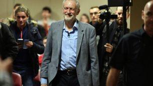 قائد حزب العمال جيرمي كوربين، 30 مارس 2019 (Ben Birchall/PA via AP)