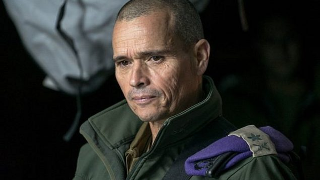 الميجر جنرال يوئيل ستريك، قائد المنطقة الشمالية، في صورة غير مؤرخة.  (Israel Defense Forces)