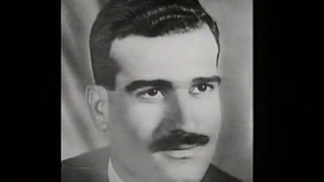 الجاسوس الإسرائيلي إيلي كوهين، الذي أعدم في سوريا في عام 1965. (Israel GPO)