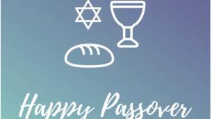 صورة من تغريدة من حزب العمل البريطاني تتمنى لليهود عيد فصح سعيد تضم رغيف خبز ، 19 أبريل 2019 (twitter)