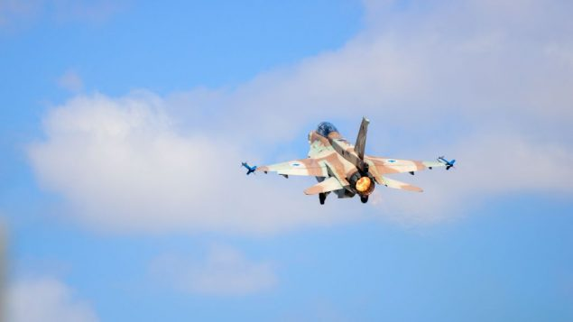 طائرة اف-16 اسرائيلية (Hagar Amibar/Israeli Air Force)