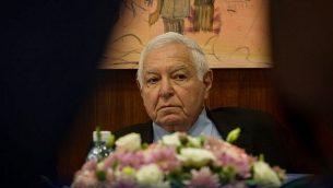 مراقب الدولة حينذاك ميخا ليندنشتراوس في 2012.(Flash90)