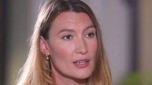 ستيلا بين بشناك، وكيلة شركة 'بلاك كيوب' التي خدعت الممثلة الامريكية روز مكغاون، احدى متهمات هارفي واينستين، بمحاولة لاخماد الادعاءات حول التحرش الجنسي (Screencapture/Channel 12)
