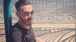 بشار حكروش، عامل في مصنع في كريات شمونة، الذي يُشتبه بأنه لقي مصرعه بعد قيام زميله في العمل بطعنه في 28 يوليو، 2019.  (Courtesy)