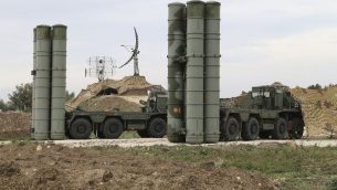 صورة توضيحية: نظام صواريخ اس-400 الروسية، 16 ديسمبر 2015 (Vadim Savitsky/Russian Defense Ministry Press Service via AP)