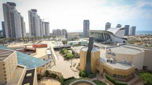 صورة توضيحية لمدينة اشدود الجنوبية (Yaakov Lederman/Flash90)