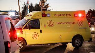 صورة توضيحية - وحدة عناية مكثفة تابعة لنجمة داود الحمراء (Gershon Elinson/Flash90)