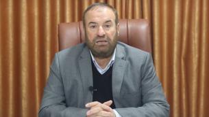المسؤول في حماس فتحي حماد (Screenshot: YouTube)