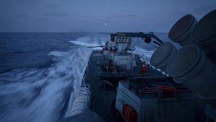 توضيحية: سفنية تابعة للبحرية الإسرائيلية تشارك في مناورة واسعة النطاق تحاكي حربا ضد منظمة 'حزب الله' اللبنانية، يونيو 2019. (Israel Defense Forces)