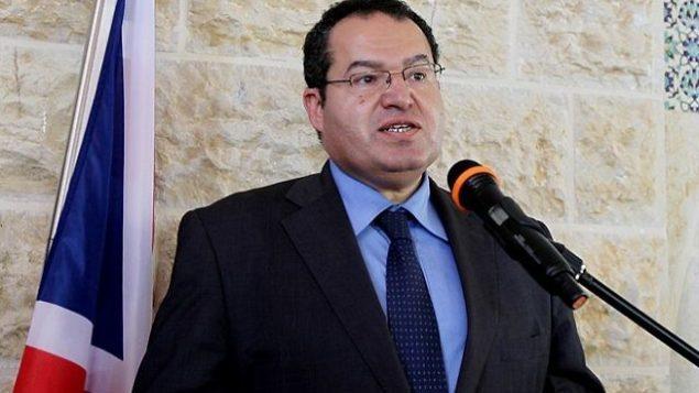مجدي الخالدي، مستشار رئيس السلطة الفلسطينية محمود عباس للشؤون الدبلوماسية. (Wafa)