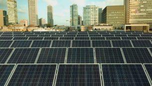 ألواح شمسية مولدة للكهرباء. (Danny Shechtman)