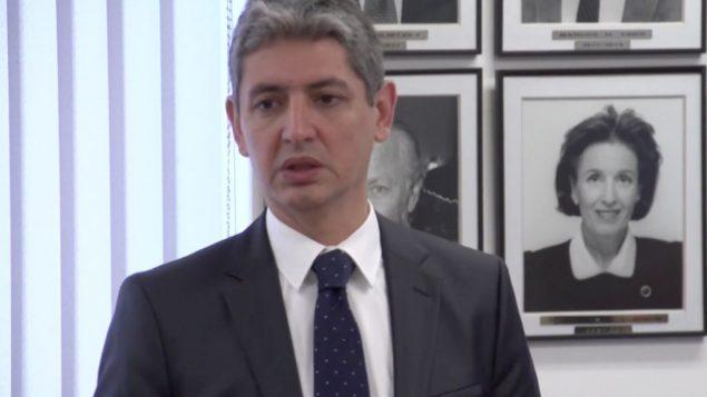 السفير الإسرائيلي الى بنما رضا منصور (YouTube screenshot)