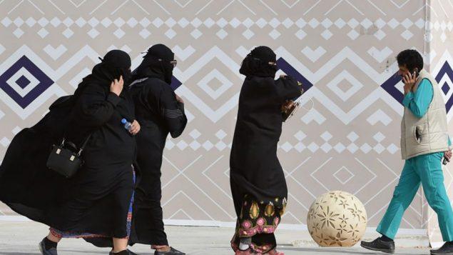 صورة توضيحية: نساء سعوديات، 19 يناير 2018 (Fayez Nureldine/AFP)