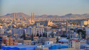 العاصمة اليمنية صنعاء عام 2015 (CC BY-SA Wikimedia Commons)