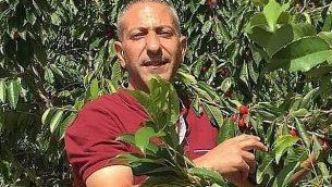 سامر عربيد، المشتبه به بقيادة خلية مسلحة يعتقد انها المسؤولية عن تفجير دام اسفر عن مقتل المراهقة الإسرائيلية رينا شنيرب في شهر اغسطس 2019 (Twitter)