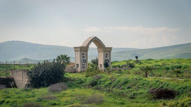 المعبر الحدودي الأردني إلى جزيرة السلام، 29 يناير، 2019.  (Luke Tress/Times of Israel)
