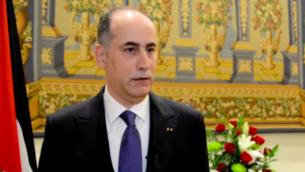 غسان المجالي، سفير الأردن لدى إسرائيل.  (Screen capture/YouTube)