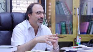رئيس بلدية كفر ياسيف شادي شويري (Screenshot: Elhmra TV)