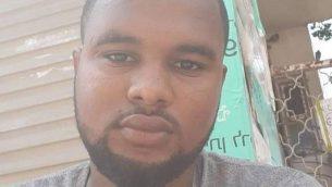 الشاب الإسرائيلي من أصول إثيوبية، سولمون تيكاه، الذي قُتل بعد أن قام شرطي خارج الخدمة بإطلاق الرصاص عليه في كريات حاييم، 30 يونيو، 2019. (Courtesy)