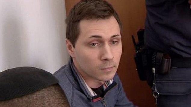 اليكسي بوركوف خلال جلسة في محكمة إسرائيلية.  (Channel 13 news)