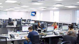 صورة غير مؤرخة لمركز الاتصال المالي LianTech  كما يظهر على موقع الشركة. (Screenshot)