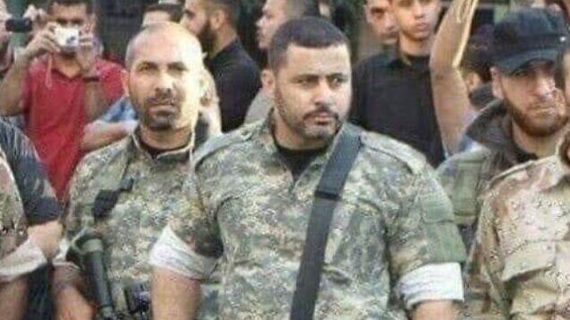 رسمي أبو ملحوس، قيادي في حركة 'الجهاد الإسلامي' يُزعم أنه ترأس وحدة الصواريخ فيها، والذي قال الجيش الإسرائيلي إنه قُتل في غارة جوية في غزة فجر الخميس، 14 نوفمبر، 2019.  (via Twitter)