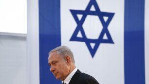 رئيس الوزراء بنيامين نتنياهو في القدس، 24 يوليو 2013. (FLASH90)