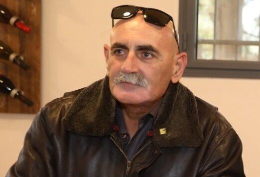 رئيس مجلس غور الأردن الإقليمي دافيد الحياني. (Miri Tzachi)
