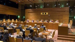 توضيحية: جلسة في محكمة العدل الأوروبية.  (Court of Justice of the European Union)