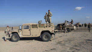 وحدات عسكرية عراقية تنتشر خلال عمليات اللواء السابع للجيش العراقي، في الأنبار، العراق، 29 ديسمبر 2019 (AP Photo/Nasser Nasser)