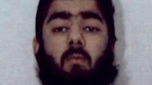 عثمان خان، المشتبه به بتنفيذ هجوم طعن في لندن (West Midlands Police)