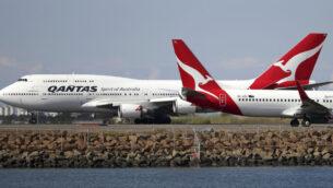 صورة توضيحية: طائرتان تابعة لشركة الطيران الاسترالية 'كوانتاس' على المدرج في مطار سيدني، أستراليا ، 20 أغسطس 2015. (Rick Rycroft/AP)
