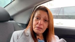 يافا يسسخار في مقابلة مع أخبار القناة 12 في أكتوبر 2019.  (Channel 12 screenshot)