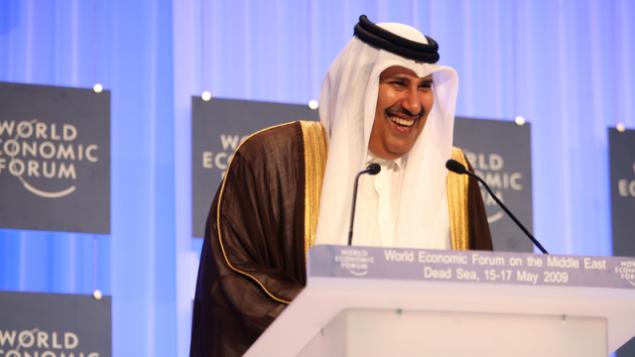 رئيس الوزراء القطري الأسبق حمد بن جاسم آل ثاني.  (CC-BY-SA World Economic Forum, Wikimedia Commons)