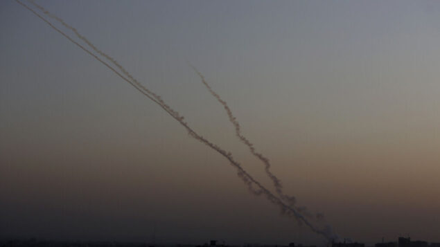 صورة توضيحية: بطارية قبة حديدية في جنوب إسرائيل بالقرب من الحدود مع قطاع غزة، 13 نوفمبر 2019. (Yonatan Sindel / Flash90)