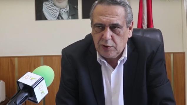 حمد الله الحمد الله، رئيس بلدية عبتا الفلسطينية بالضفة الغربية.  (Screenshot: YouTube)