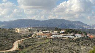 مستوطنة إيتامار، 30 يناير 2020. (Jacob Magid/Times of Israel)