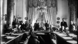المندوبون في مؤتمر سان ريمو في أبريل 1920 (screenshot YouTube)