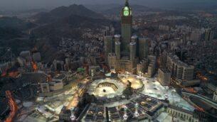 مدينة مكة المكرمة خلال الساعات الاولى من عيد الفطر، 24 مايو 2020 (STR / AFP)