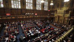 صورة لجلسة لمجلس اللوردات في البرلمان البريطاني بلندن، 5  سبتمبر، 2016. (AFP/POOL/Kirsty Wigglesworth)