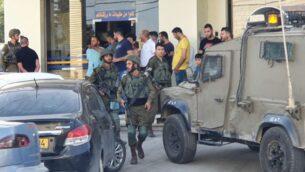موقع محاولة تنفيذ هجوم بالقرب من مفرق حوارة في شمال الضفة الغربية، 20 مايو 2020. (Samaria Regional Council)