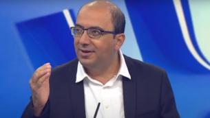 عضو الكنيست عن 'القائمة المشتركة' سامي أبو شحادة (Screen capture: YouTube)